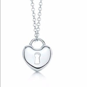 Tiffany & Co. Sterling Silver Mini Heart Lock